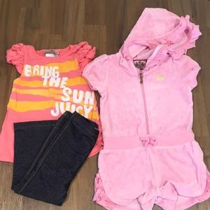 ♦️EUC 12-18 months Juicy Couture Toddler Outfits